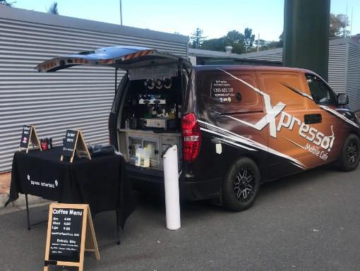 coffee event set up