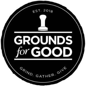 grounds for good logo