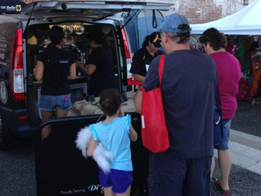 Book a Mobile Coffee van